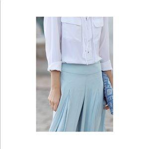 NWT zara palazzo flowy trousers